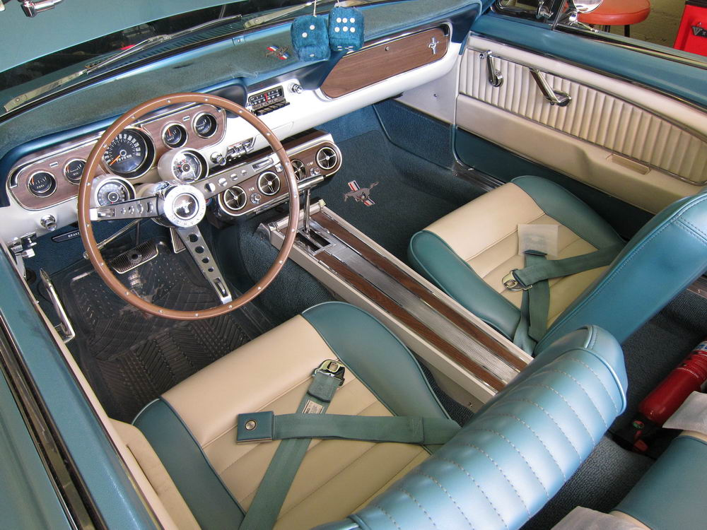 Hello and interior question vintage mustang forums for 1966 ford mustang pony interior