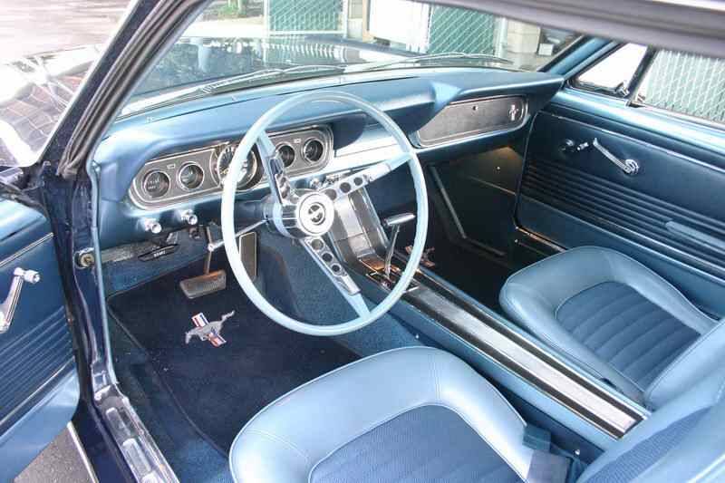 1966 Mustang Coupe For Sale