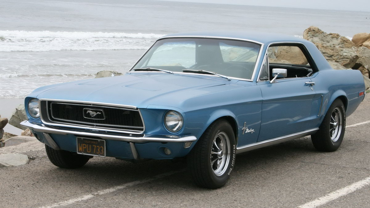 1968 Mustang Picture