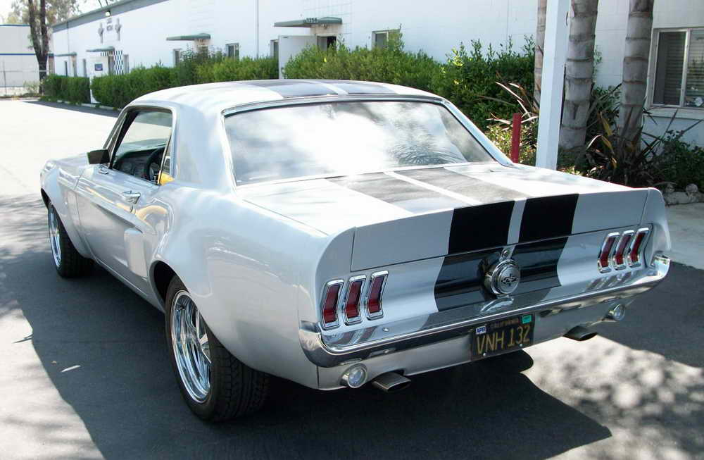 Where To Buy A Ductail Rear Spoiler For A 67 Mustang Coupe