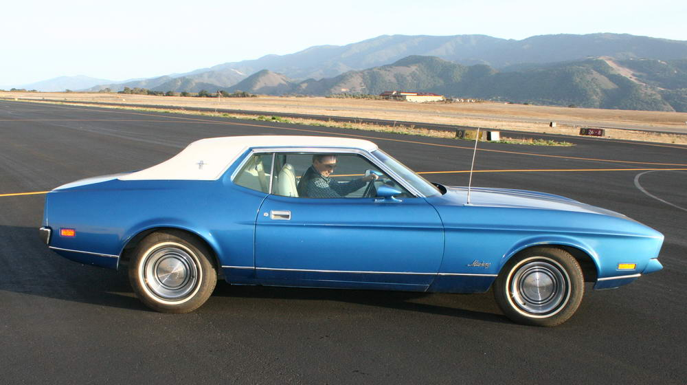 in the early 70 s the cars got longer wider lower a departure from