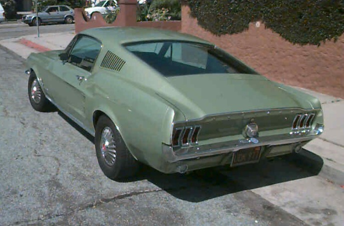 67 Mustang Fastback for Sale