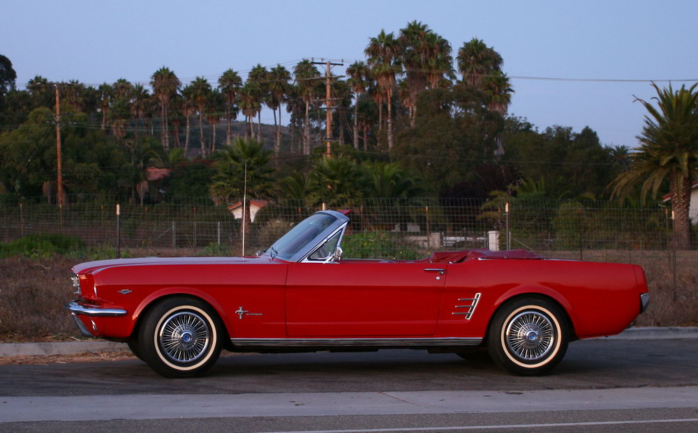 1965 1966 1967 1968 Ford Mustang Convertible Locating Service