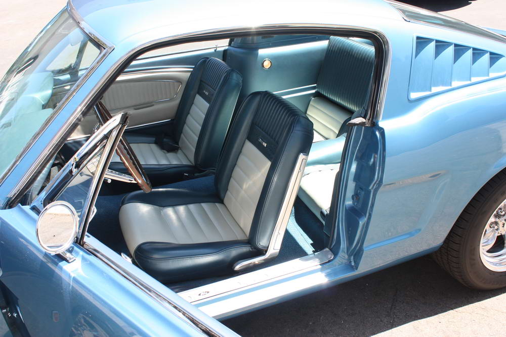 Ford mustang fastback 2 2 1965 1 24 page 2 for Interieur 66