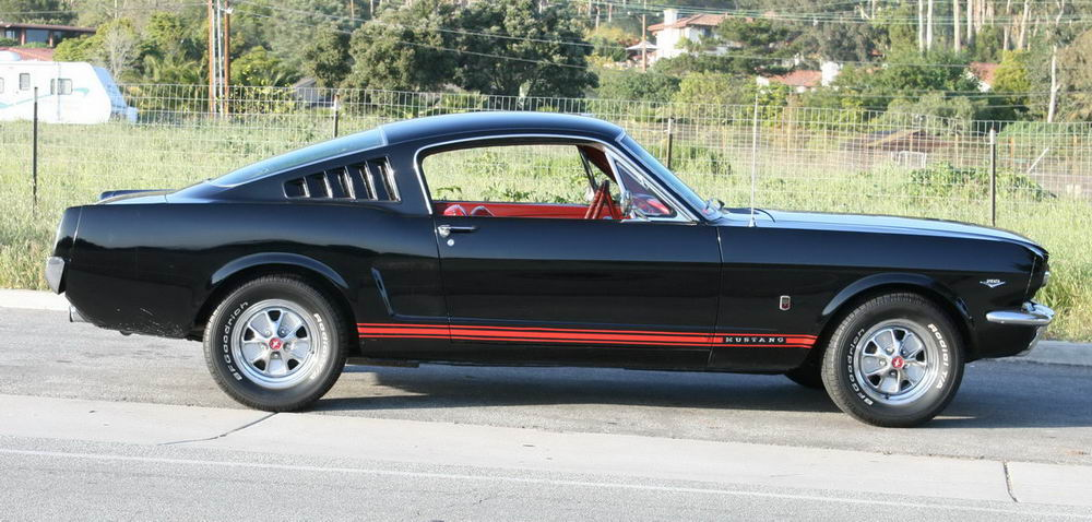 1965 Fastback in Raven Black with GT options