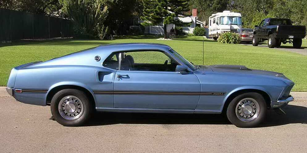 1969 1970 Mustang Fastback
