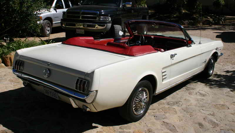 white red interior click above for more pictures picture 1966 mustang