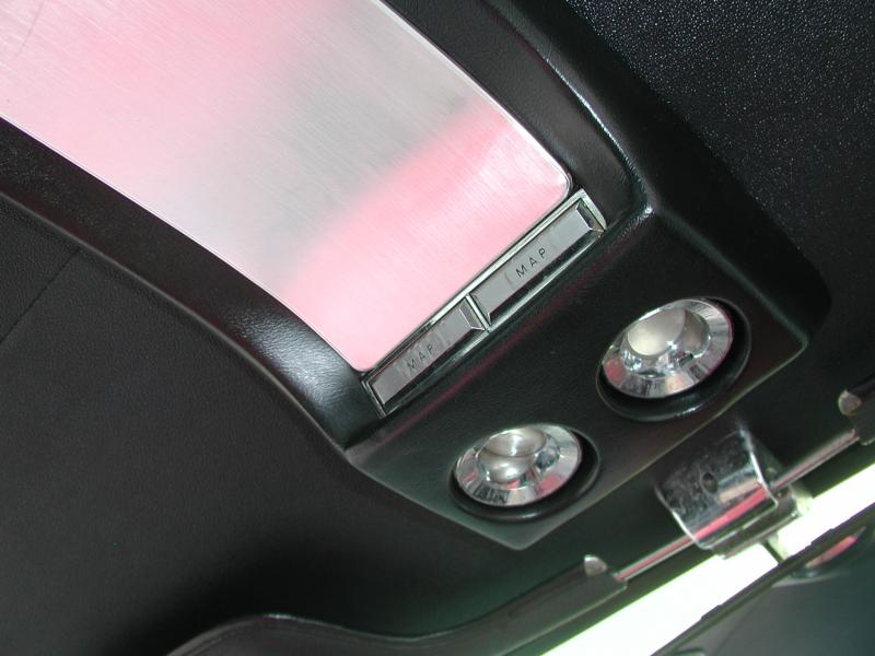 Mustang overhead console
